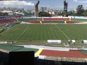 Estádio Canindé - Visão da Cabine